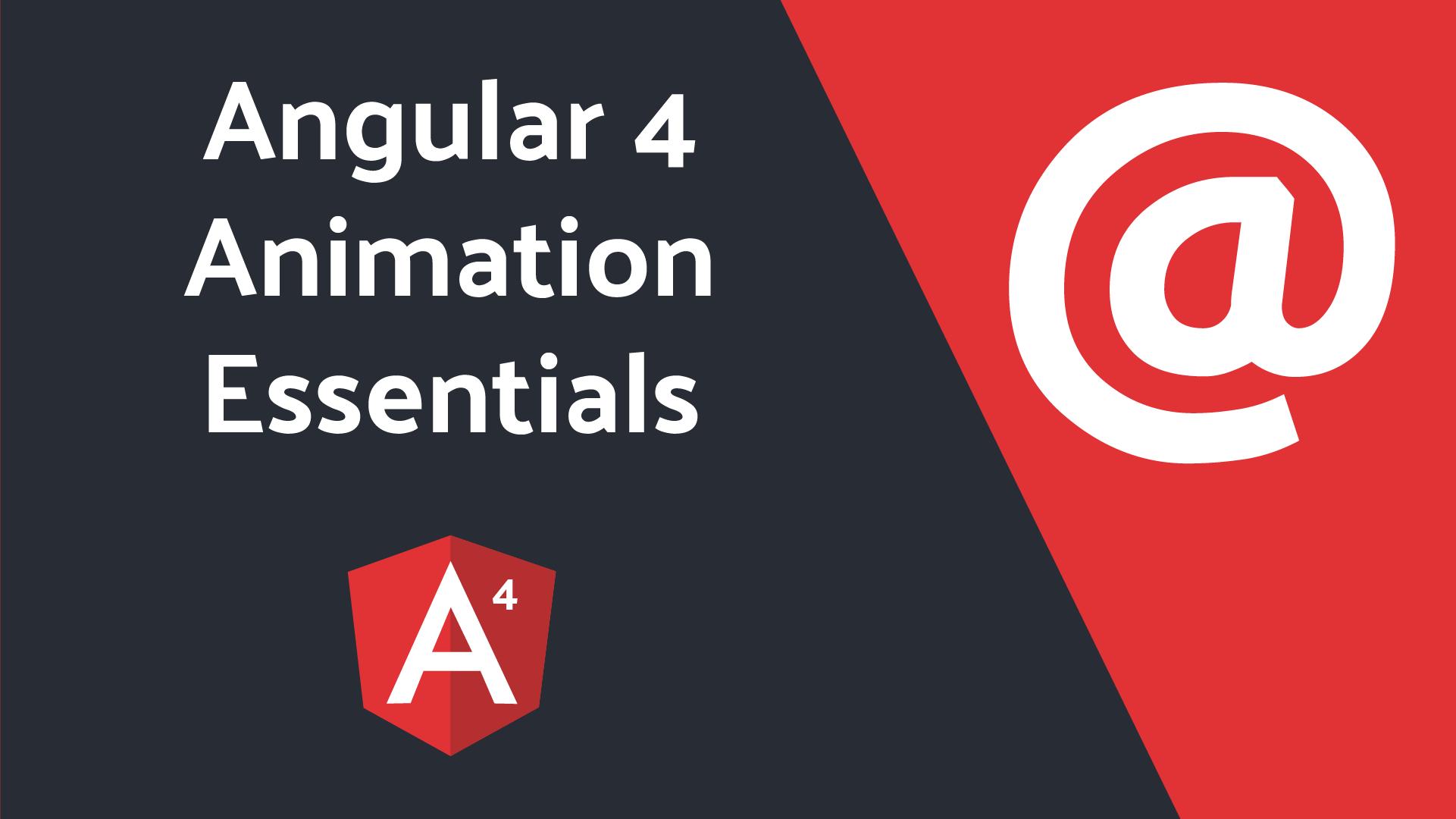 Angular Animations Examples