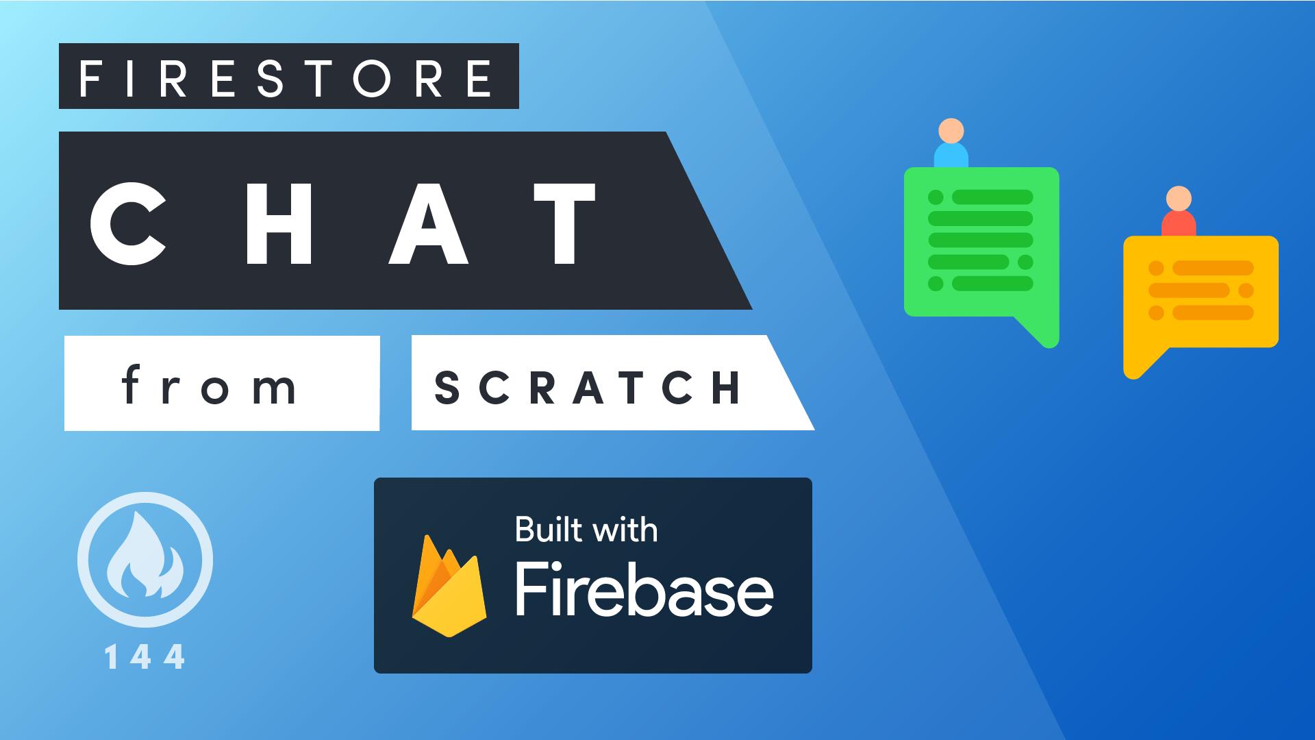 Firestore chat schema