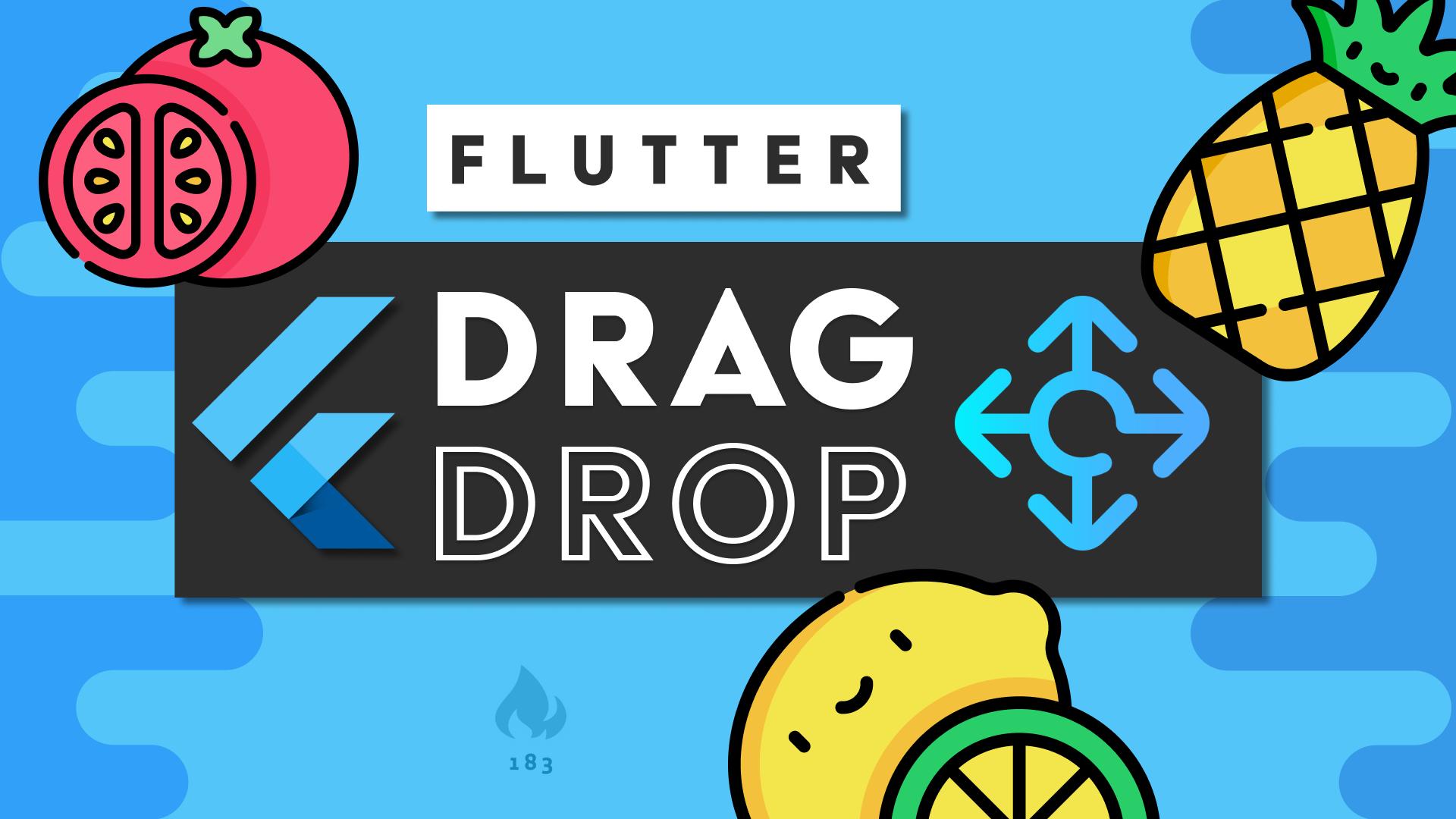 Flutter Drag and Drop Basics