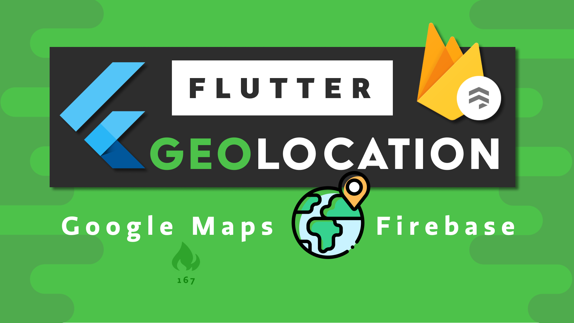 Flutter Realtime Geolocation Firebase
